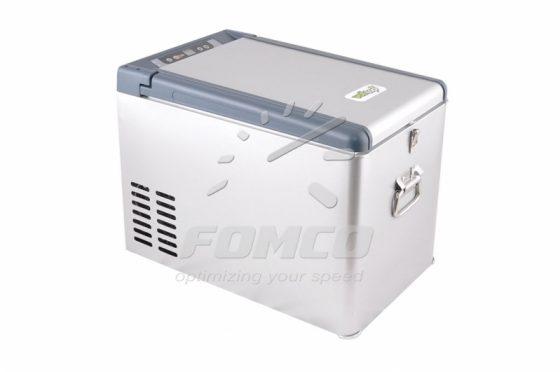 Volltop DC-25P car cooler, metal case, 25 liters, power supply 12/24V DC, 230V AC, cooling range -18°C/+10°C
