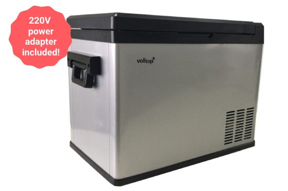 Volltop-DC-40 cool box and freezer for trucks